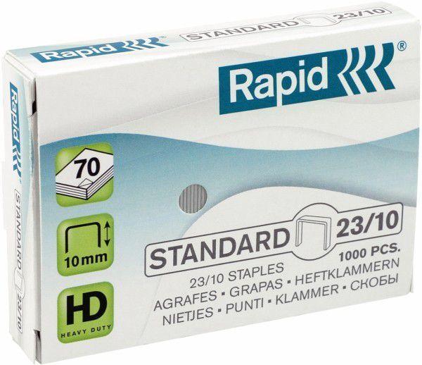 Zszywki RAPID STANDARD 23/10 1000 szt. - X08276