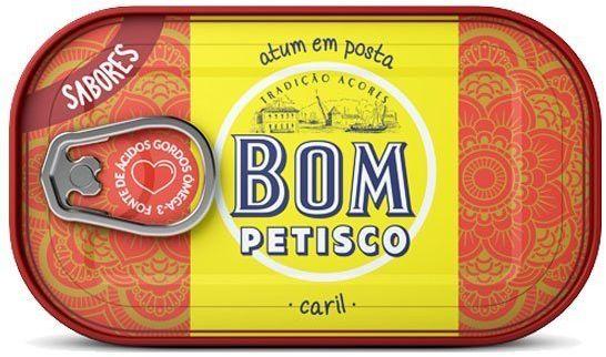 Stek z tuńczyka z curry 120g Bom Petisco
