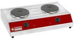 Kuchnia elektryczna nastawna 2 płytowa 3000W