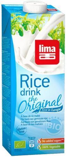 Napój ryżowy bezglutenowy BIO 1 l Lima