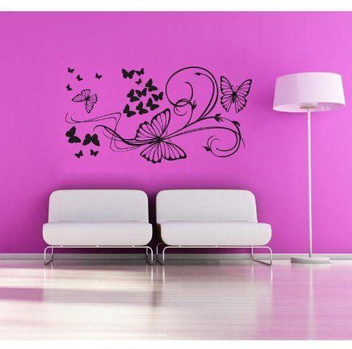 Butterfly  naklejki ścienne winylowe Wall Sticker Decals