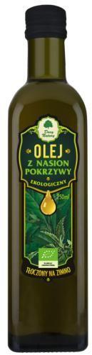 Olej z nasion pokrzywy BIO 250 ml Dary Natury