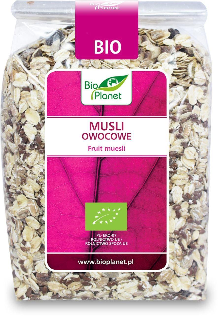 Musli owocowe bio 300 g - bio planet