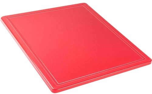 Deska do krojenia Gn 1/2 Czerwona HACCP