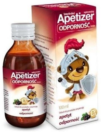 Apetizer odporność junior syrop 100 ml