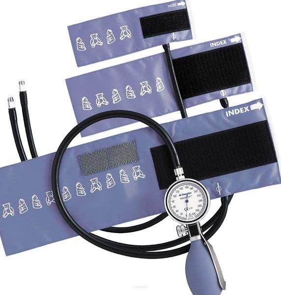 RIESTER Babyphon-Precisa N ze stetoskopem Ciśnieniomierz zegarowy