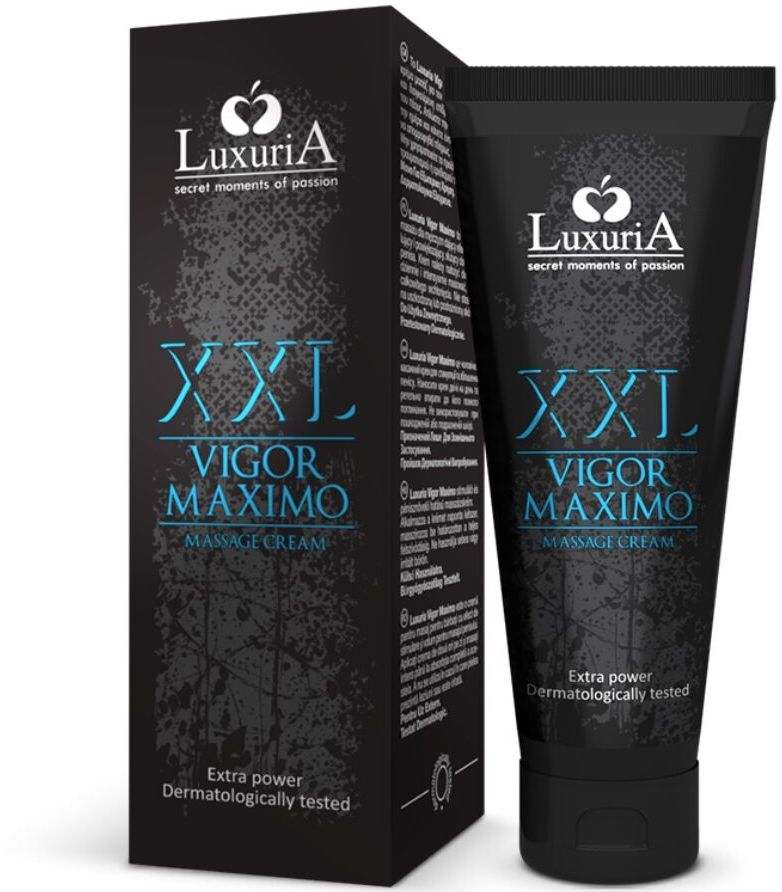 Luxuria XXL Vigor Maximo Massage Cream 75ml