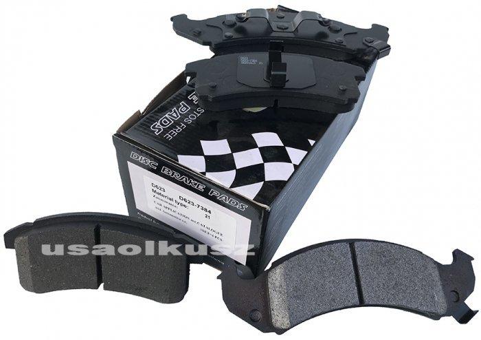 Przednie klocki hamulcowe Pontiac Trans Sport 1994-1996