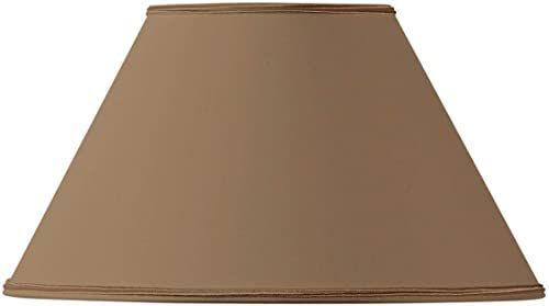 Klosz lampy, kształt wiktoriański, Ø 40 x 17 x 24 cm, taupe