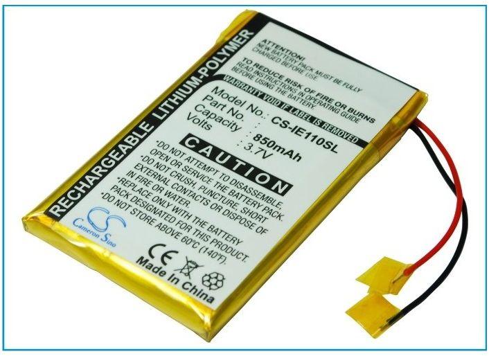 iRiver E100 850mAh 3.15Wh Li-Polymer 3.7V (Cameron Sino)