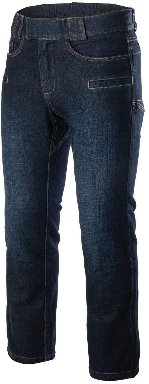 Spodnie Helikon Greyman Tactical Jeans Slim Denim Mid Dark Blue (SP-GJS-DD-31) H