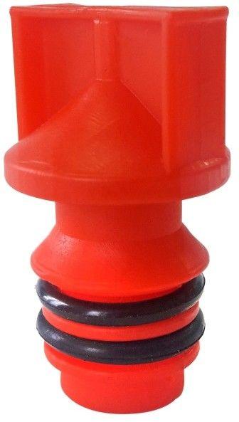 Korek oleju do kompresora Airpress czerwony 25, 50 l