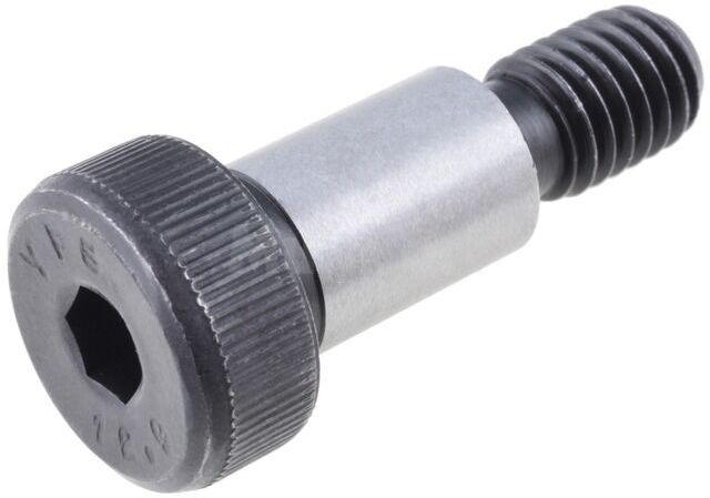 Śruba pasowana stalowa Dł.gwintu 13mm Gwint M8 Wys.łba 7mm