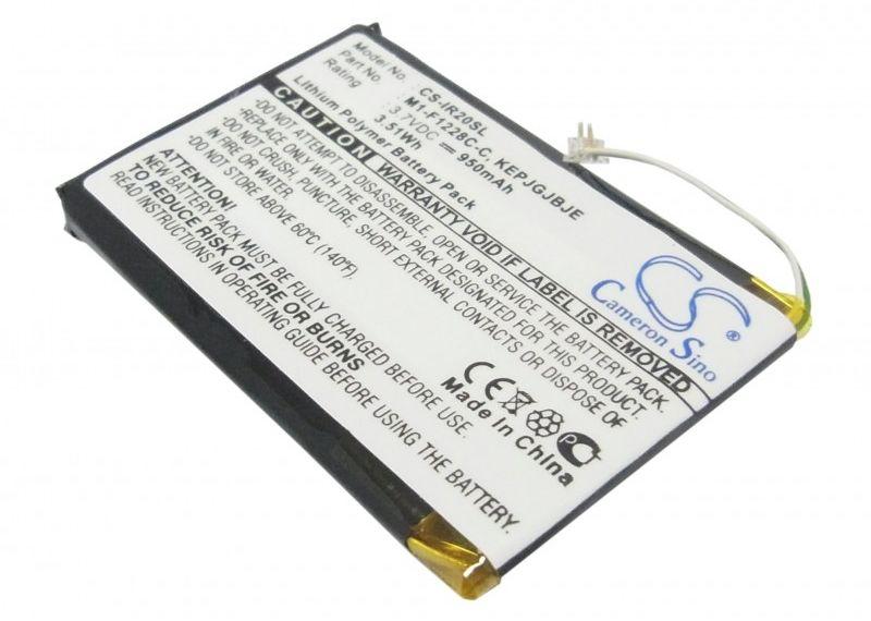 iRiver U20 / M1-F1228C-C 950mAh 3.52Wh Li-Polymer 3.7V (Cameron Sino)