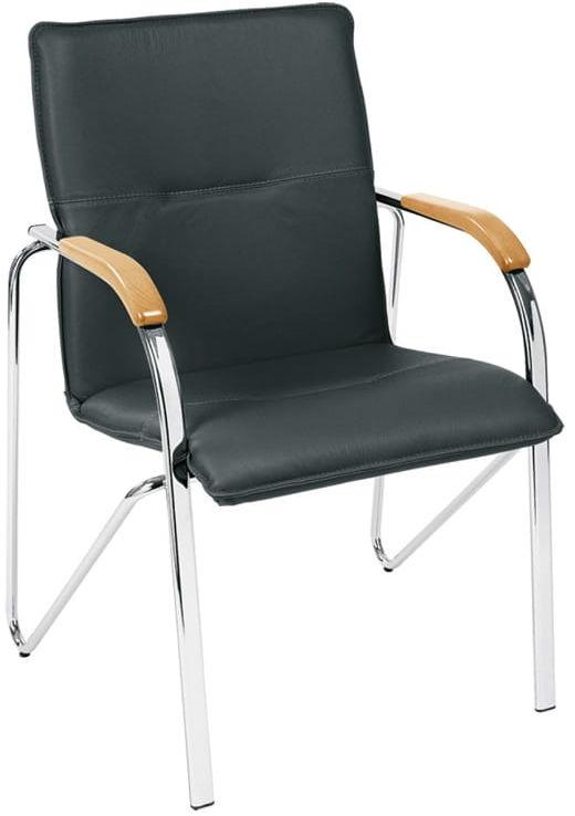 Krzesło SAMBA - do poczekalni i sal konferencyjnych, konferencyjne, na nogach, stacjonarne