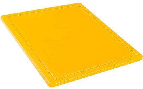 Deska do krojenia Gn 1/2 Żółta HACCP