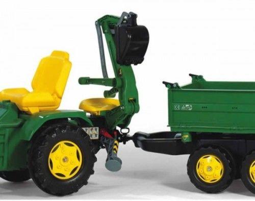 John Deere Koparka Rolly Toys doczepiana łyżka