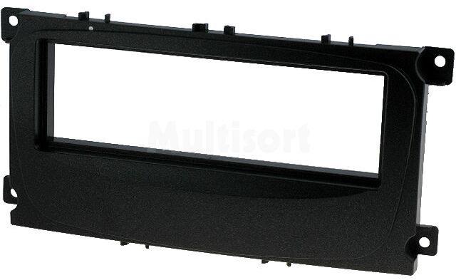 Ramka radiowa Ford Focus, Mondeo, S-Max 2007-> czarna
