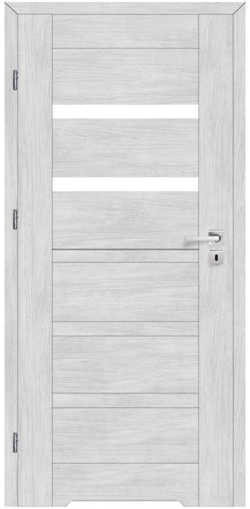 Skrzydło drzwiowe z podcięciem wentylacyjnym ETNA Dąb arctic 60 Lewe ARTENS