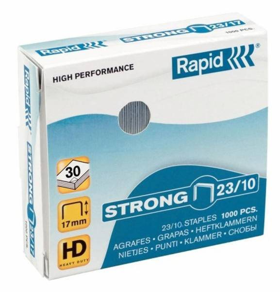 Zszywki RAPID STRONG 23/10 1000 szt. - X08283