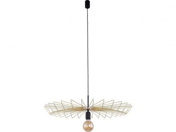 Lampa wisząca druciana złota Umbrella gold metalowa 8874 - Nowodvorski Do -17% rabatu w koszyku i darmowa dostawa od 299zł !