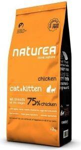 Naturea chicken sterilised cat & kitten 2kg