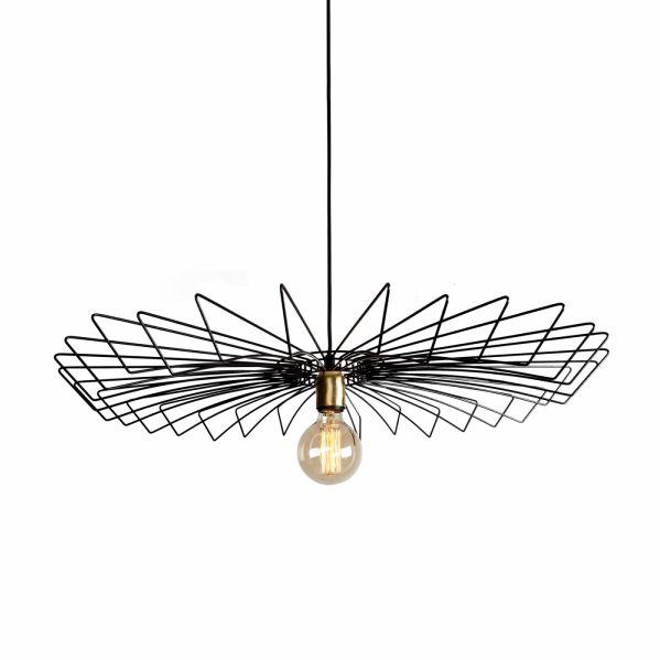 Lampa wisząca druciana czarna Umbrella black zwis metalowy 8873 - Nowodvorski Do -17% rabatu w koszyku i darmowa dostawa od 299zł !