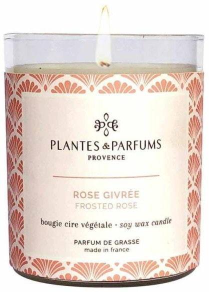 Świeca zapachowa perfumowana 180g kolekcja Fall/Winter - Frosted Rose - Oszroniona Róża