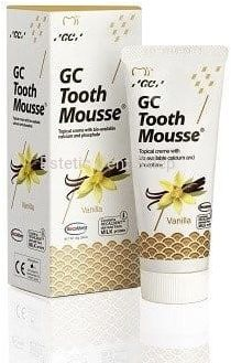 GC Tooth Mousse Wanilia - Płynne szkliwo bez fluoru o smaku Waniliowym 35 ml