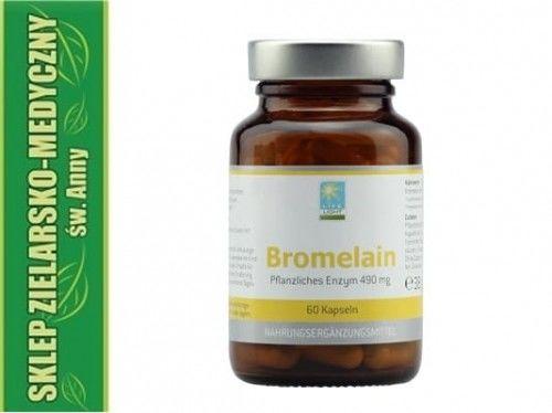 BROMELAINA 60 Kapsułek Enzymy trawienne