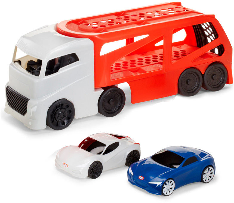 Little Tikes - Duża Ciężarówka Laweta ze sportowymi autami 646669