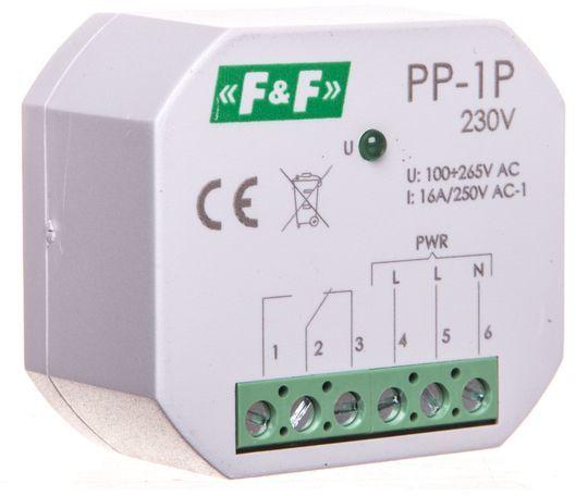 Przekaźnik elektromagnetyczny 1P 16A 250V AC PP-1P-230V