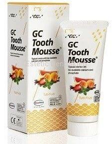 GC Tooth Mousse Tutti-Frutti - Płynne szkliwo bez fluoru o smaku owocowym 35 ml