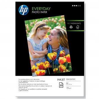 HP Q5451A Everyday Glossy Photo Paper, papier fotograficzny, błyszczący, biały, A4, 200 g/m2, 25 szt.
