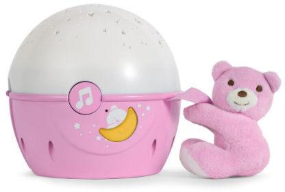 Chicco Projektor Next2Stars Różowy Chicco Projektor z Pozytywką Next2Stars 0m+