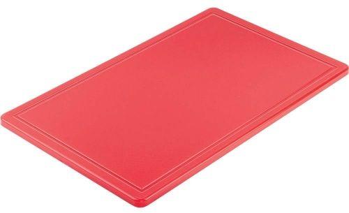 Deska do krojenia Gn 1/1 Czerwona HACCP