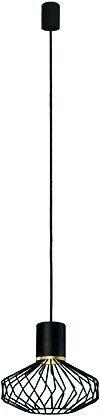 Lampa wisząca Pico czarno złota druciana zwis 8862 - Nowodvorski Do -17% rabatu w koszyku i darmowa dostawa od 299zł !
