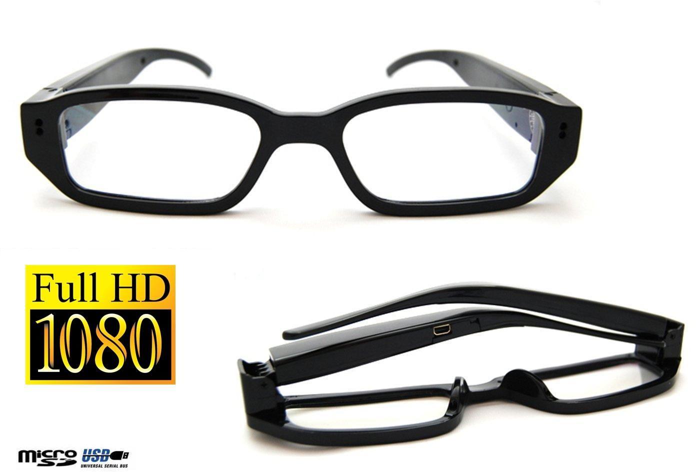 Szpiegowskie Okulary FULL HD (zerówki), Nagrywające Obraz i Dźwięk + Aparat Foto... + Akcesoria.