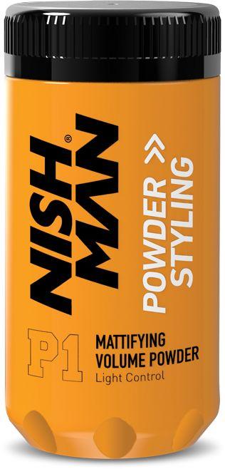 Nishman Volume Powder puder na objętość włosów 20g