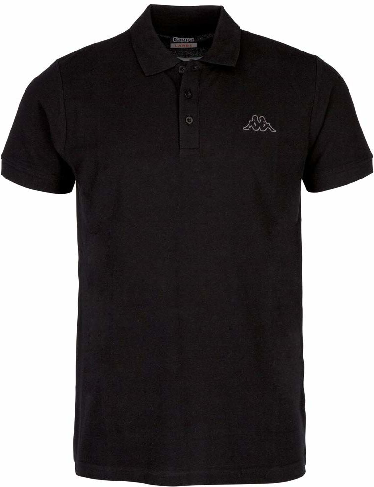 Kappa Peleot koszulka polo, męska, koszulka polo, czarna, XL