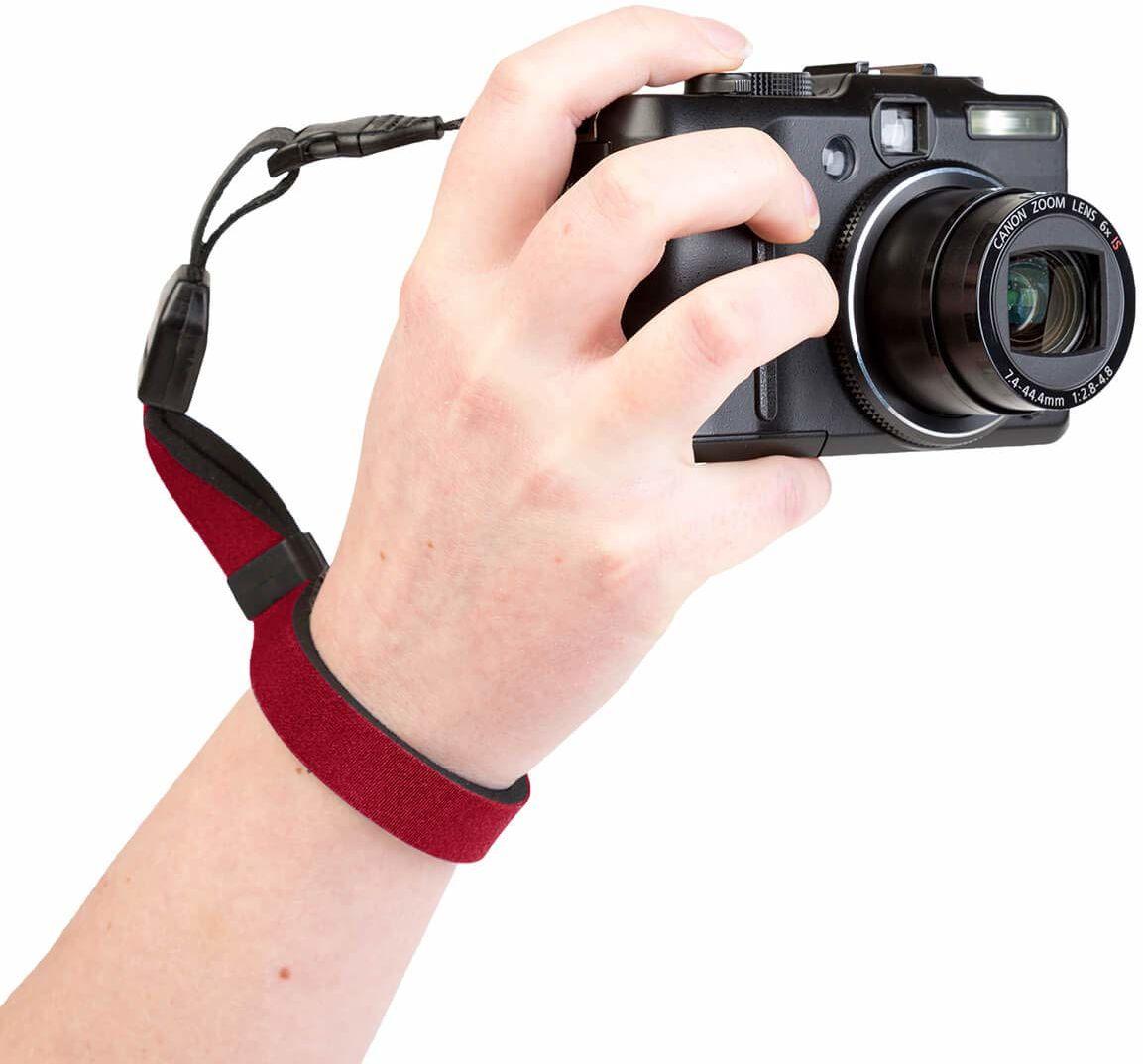 1806021 Optech USA pasek do noszenia do aparatów cyfrowych, fioletowy