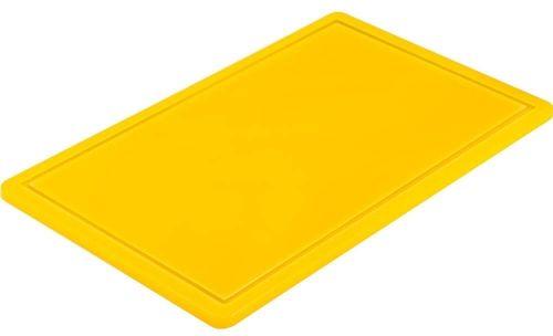 Deska do krojenia Gn 1/1 Żółta HACCP