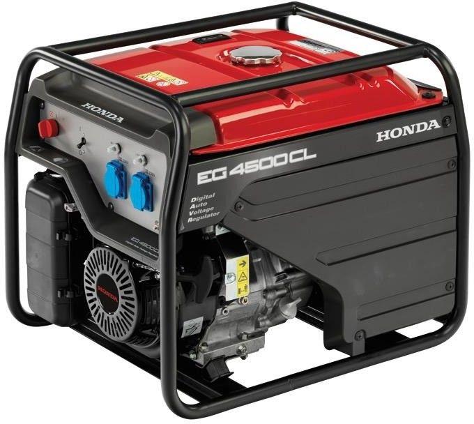 Honda Agregat prądotwórczy EG 4500 CL I Raty 10 x 0% Dostawa 0 zł Dostępny 24H Dzwoń i negocjuj cenę Gwarancja do 5 lat Olej 10w-30 gratis tel. 22 266 04 50 (Wa-wa)