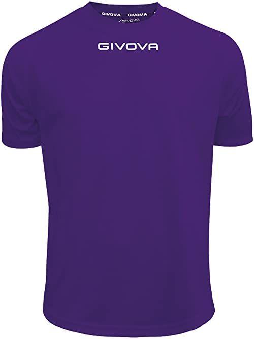 Givova - MAC01 koszulka sportowa, fioletowa, L