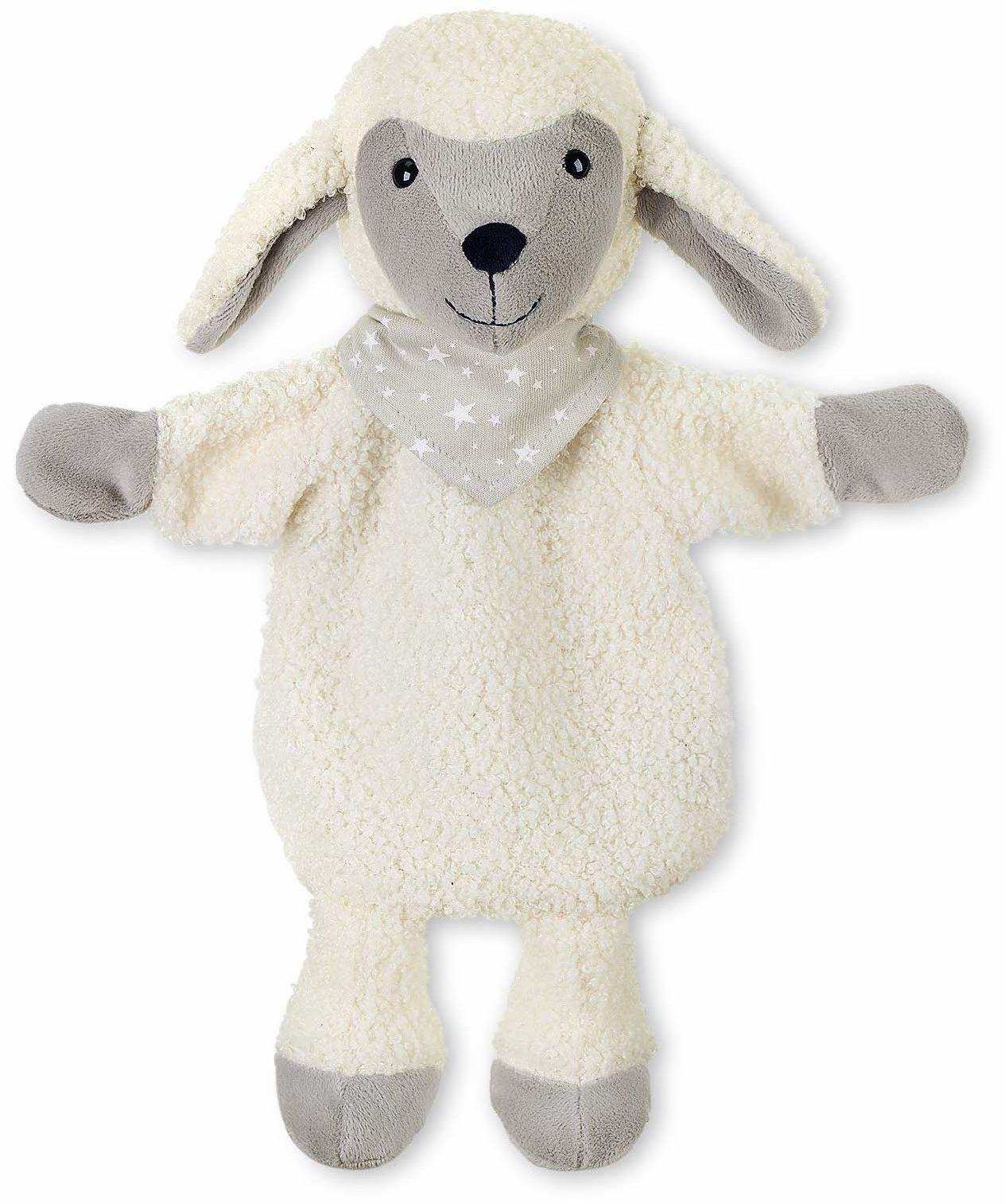 Sterntaler 3601968 Manekin Owca Stanley, idealny do teatru dla lalek i gier ról, 30 cm, beżowy