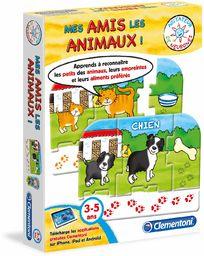 Clementoni  62509/3 Game  My Animal Friends
