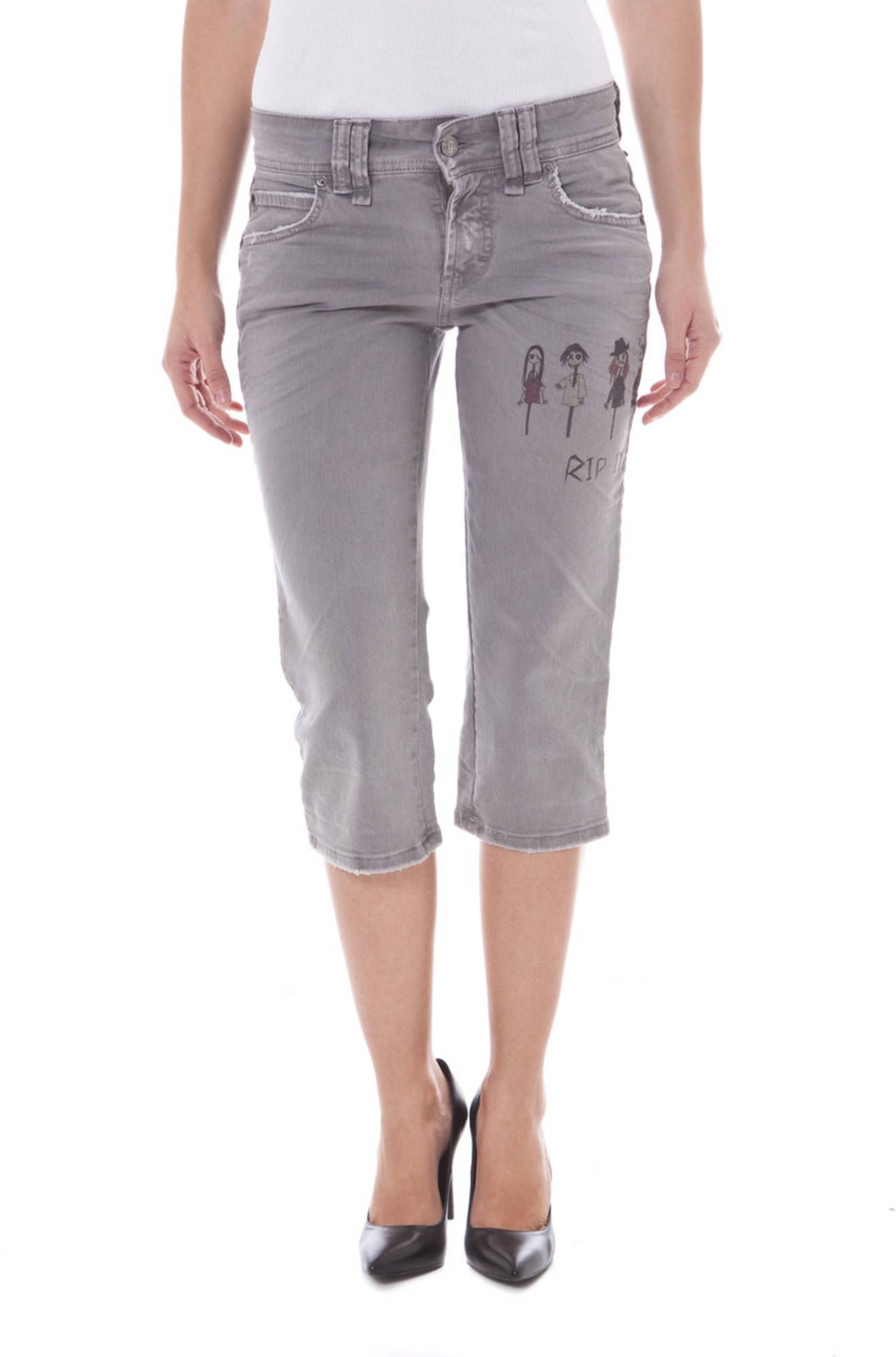 JOHN GALLIANO Capri trousers Women
