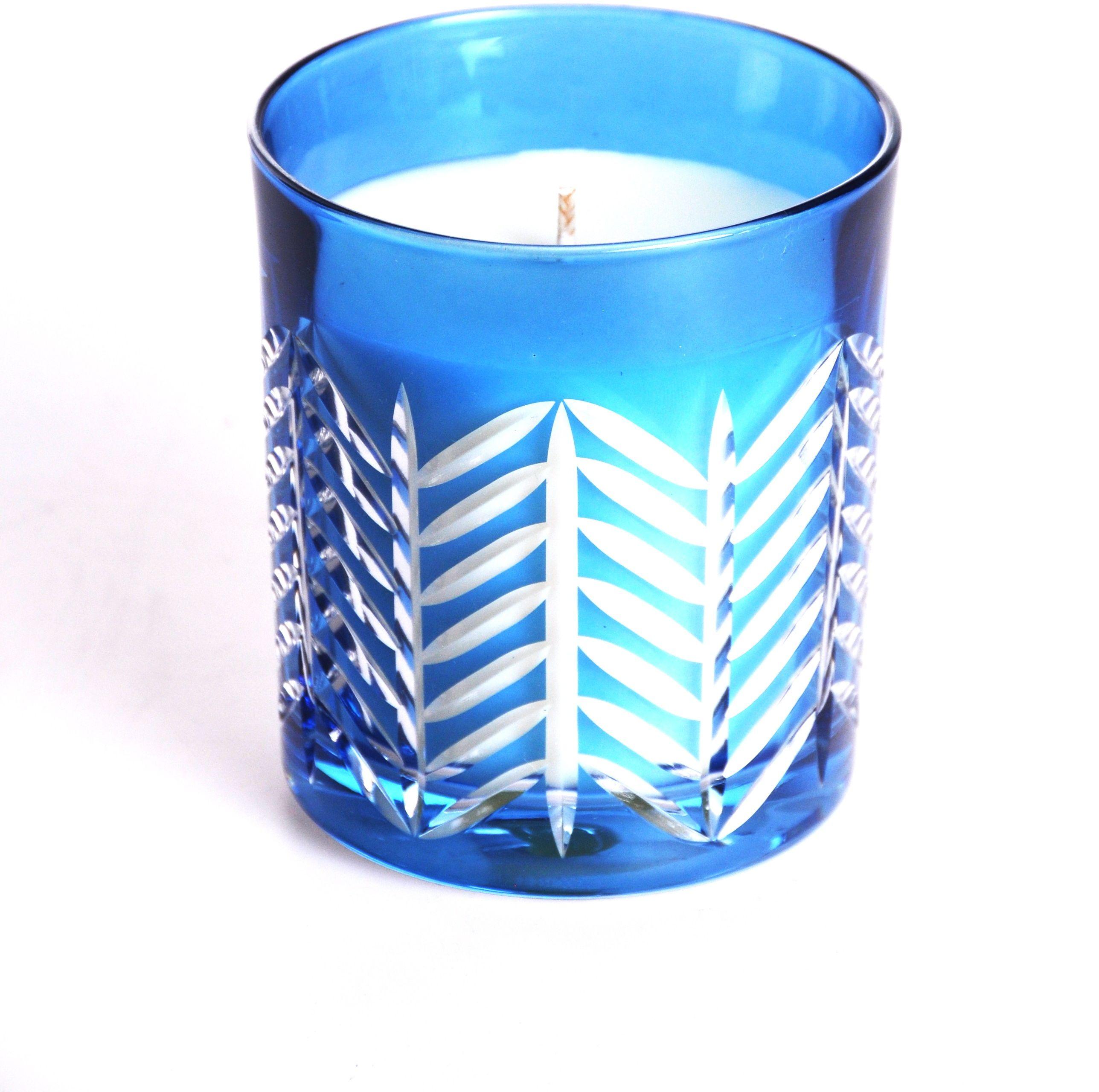 Szklanka świeca kryształowa zapachowa OSLO (13483)