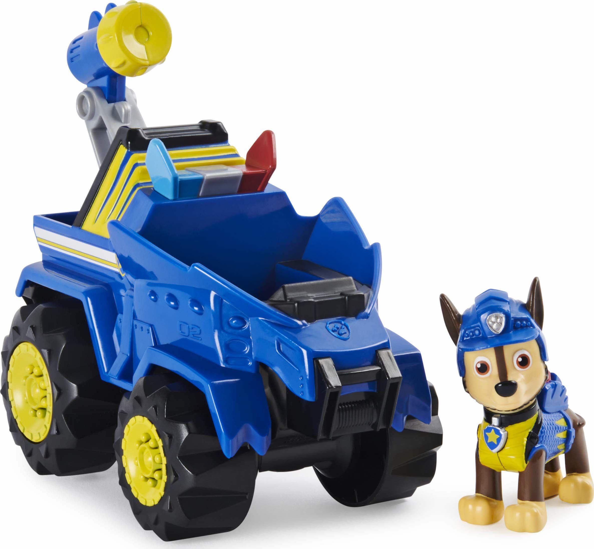 PSI PATROL: Chase z Pojazdem Ratunkowym Dino i Tajemniczym Dinozaurem