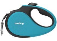 Reedog Senza Premium smycz automatyczna M 25kg / 5m taśma/ turkusowa